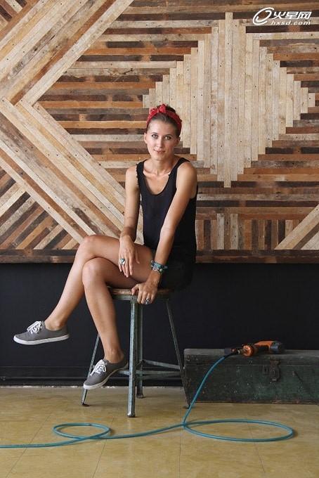 美国女木匠工作室实拍