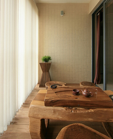 木头柱子装饰效果图