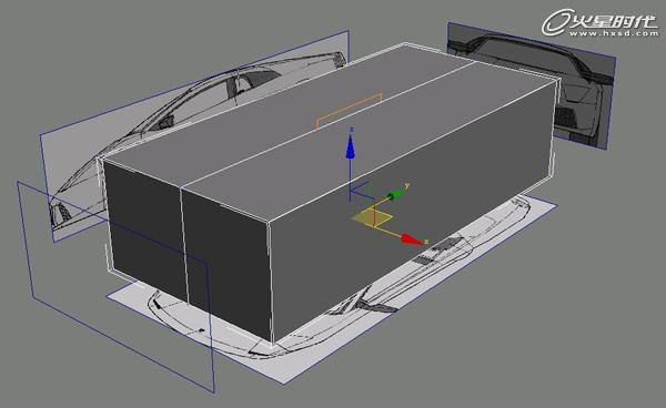 特约教程:《兰博基尼》汽车模型制作解析