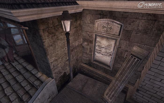 游戏设计教程:3ds max次世代场景关卡设计