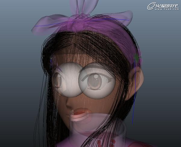 特约教程 maya卡通角色1 模型材质高清图片