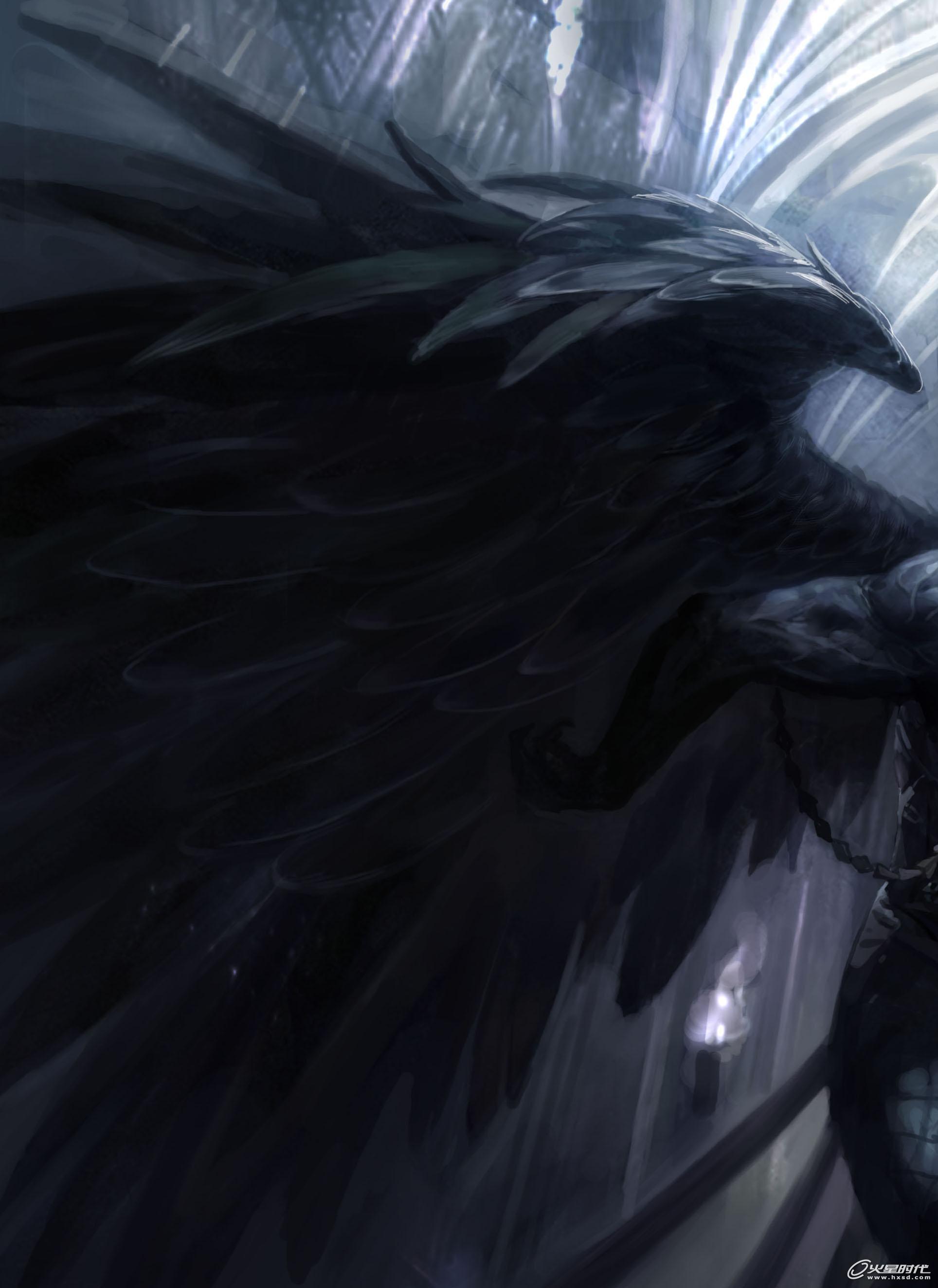 天使恶魔双翼臂膀纹身分享展示