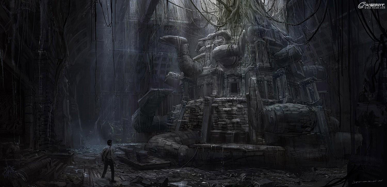 《神秘海域3:诡诈世界》概念设计欣赏