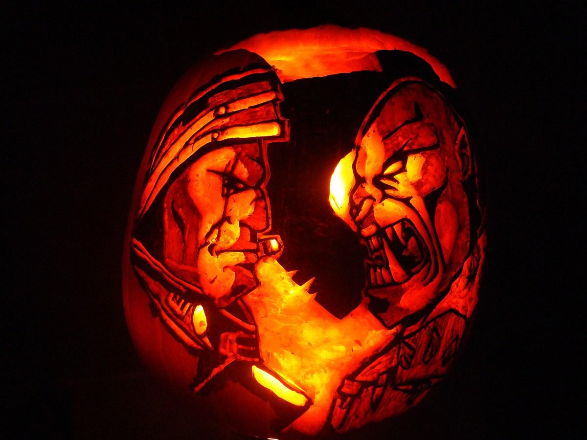 万圣节南瓜怎么雕刻_暴雪2012年万圣节南瓜雕刻大赛已经开始