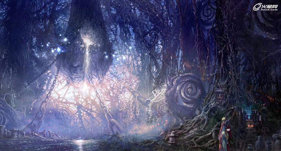 意境深远 《剑灵》全新游戏高清原画欣赏