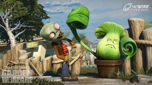 2d变3d《植物大战僵尸:花园战争》截图曝光_游戏_火星