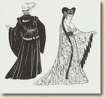 欧洲服饰资料图片