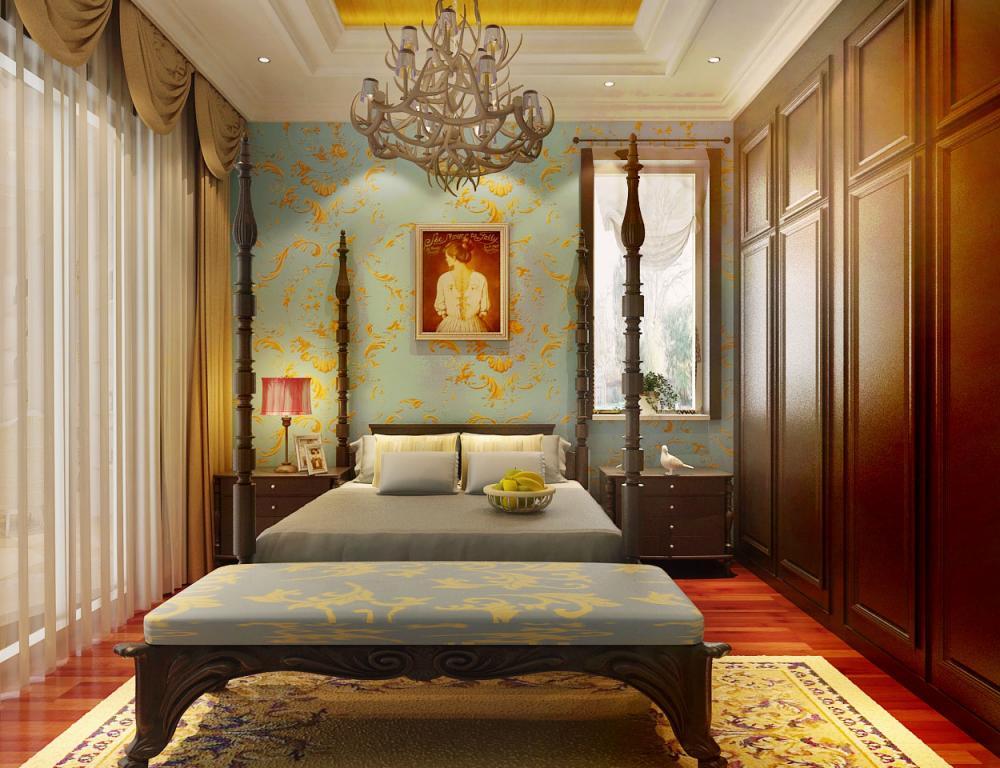 欧式卧室 | 火星网-中国数字艺术第一门户图片