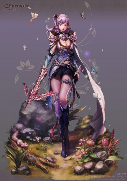 标签:美女女性原画插画设计游戏人物角色绘画设定原画 素材分类