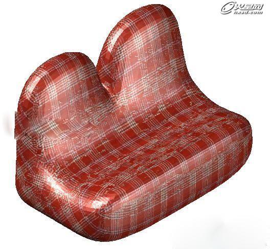 影视动画教程:运用长方体网格拉伸制作双人沙发
