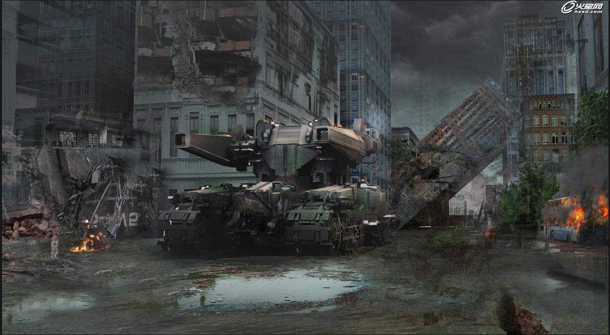 游戏设计教程:次世代机械风《金属风暴》3ds