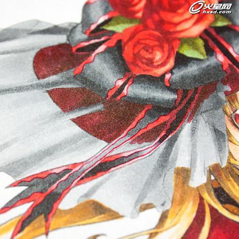 彩铅插画手绘玫瑰