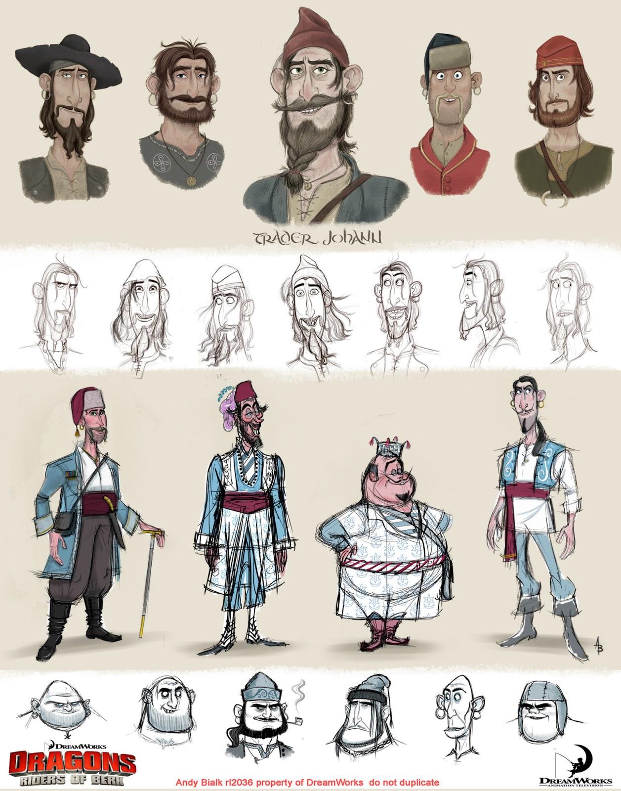 ...联盟》角色设定集   动画角色设计的要素   他认为:动画片需...