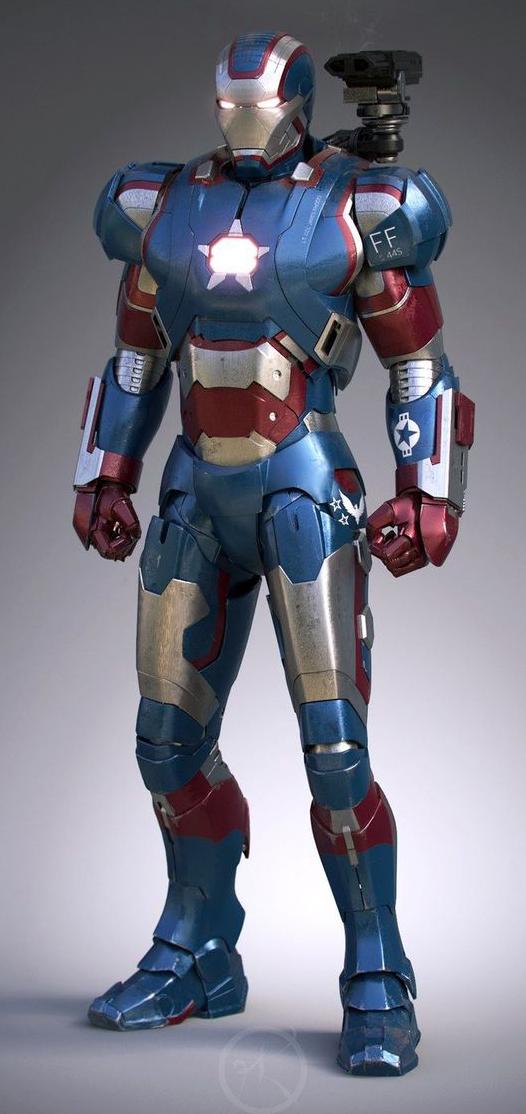 制作钢铁侠盔甲设计图内容|制作钢铁侠盔甲设计图版面设计