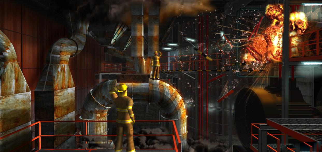 《救火英雄》实景搭建设计图 - 火星影视|网